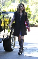 JILLIAN MICHAELS Out and About in Malibu
