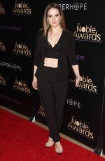 JOANNA JOJO LEVESQUE at 2015 Noble Awards in Beverly Hills