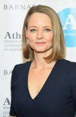JODIE FOSTER at 2015 Athena Film Festival Opening Night in New York