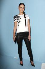 JORDANA BREWSTER at Crolina Herrera Fashion Show in New York