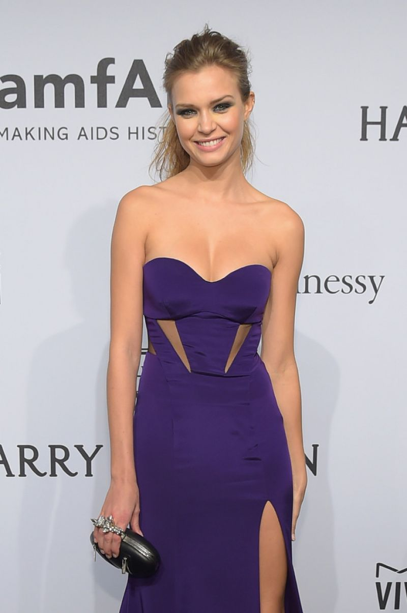 JOSEPHINE SKRIVER at 2015 Amfar Gala in New York