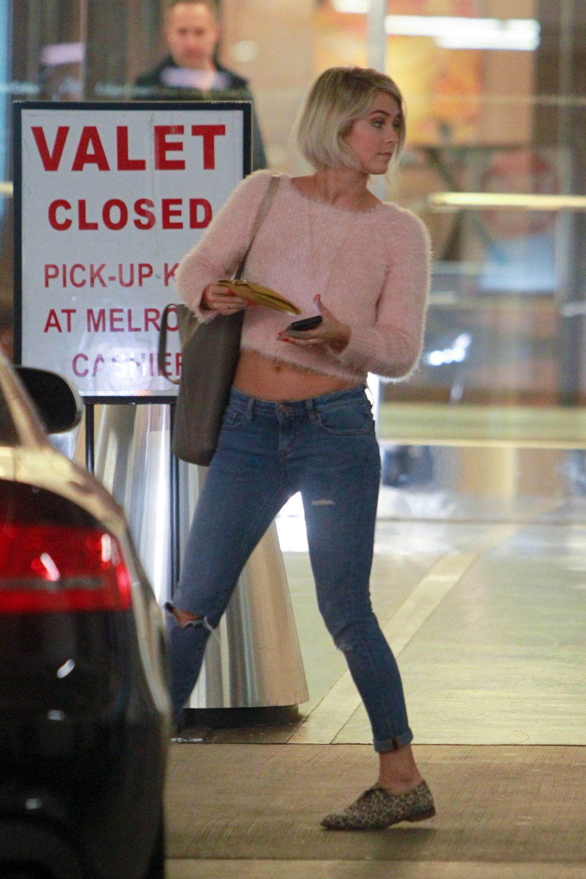 JULIANNE HOUGH in Jeans Out and About in West Hollywood