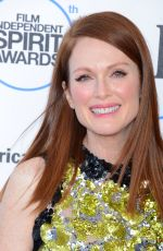 JULIANNE MOORE at 2015 Film Independent Spirit Awards in Santa Monica