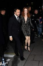 JULIANNE MOORE at Charles Finch and Chanel Pre-bafta Party in London