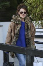 KARA TOINTON Leaves ITV Studios in London 0602