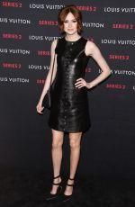 KAREN GILLAN at Louis Vuitton Series 2 Exhibition in Hollywood