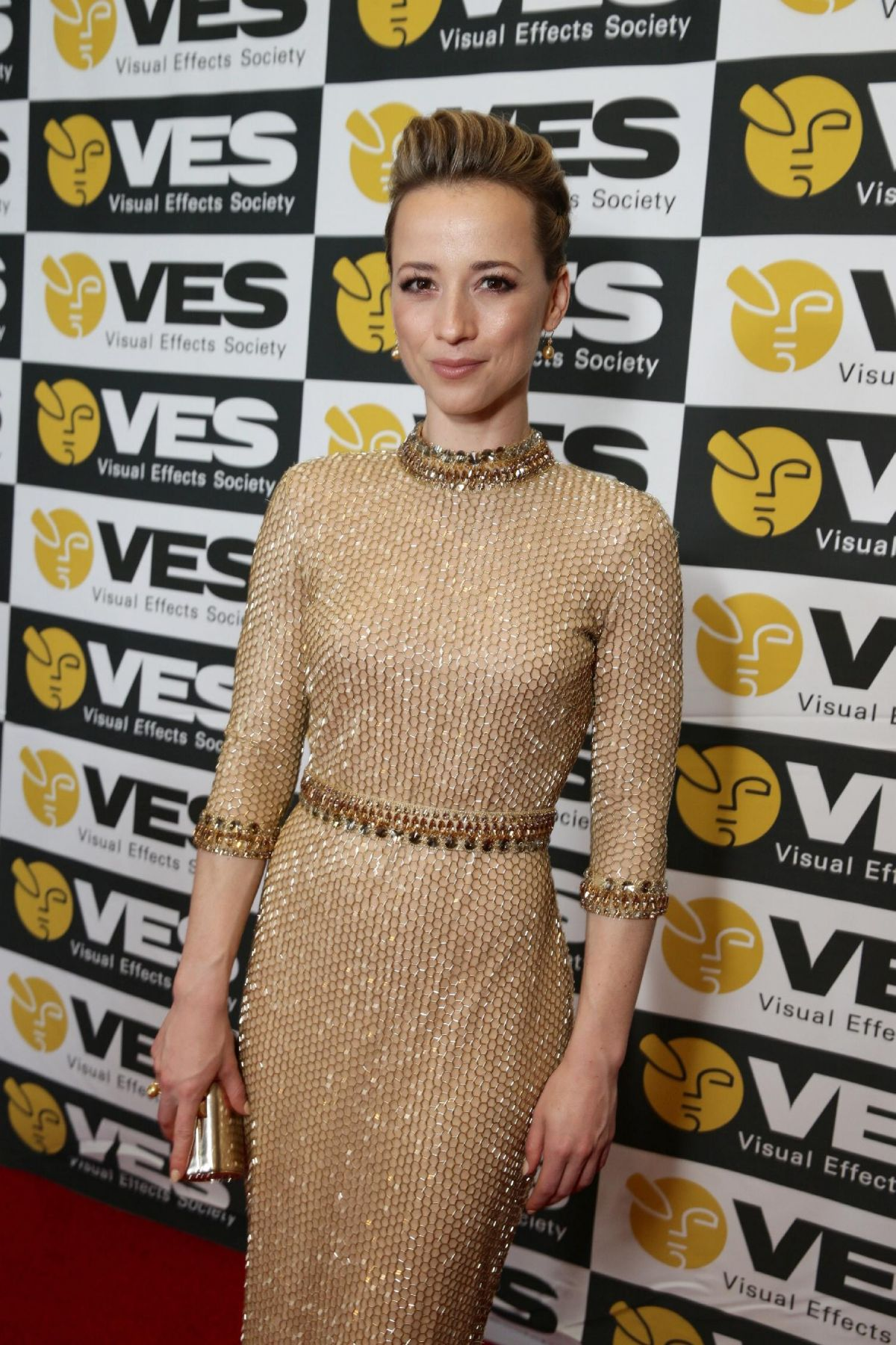 KARINE VANASSE at 2015 Ves Awards in Beverly Hills