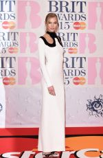 KARLIE KLOSS at Brit Awards 2015 in London