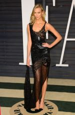 KARLIE KLOSS at Vanity Fair Oscar Party in Hollywood