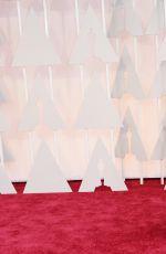 KAROLINA KURKOVA at 87th Annual Academy Awards at the Dolby Theatre in Hollywood