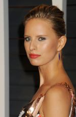 KAROLINA KURKOVA at Vanity Fair Oscar Party in Hollywood