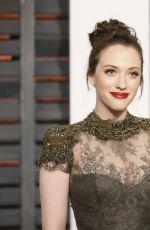 KAT DENNINGS at Vanity Fair Oscar Party in Hollywood