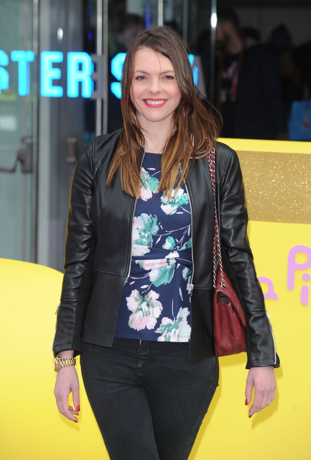 KATE FORD at Peppa Pig: The Golden Boots Premiere in London