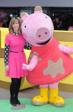 KATE GARRAWAY at Peppa Pig: The Golden Boots Premiere in London