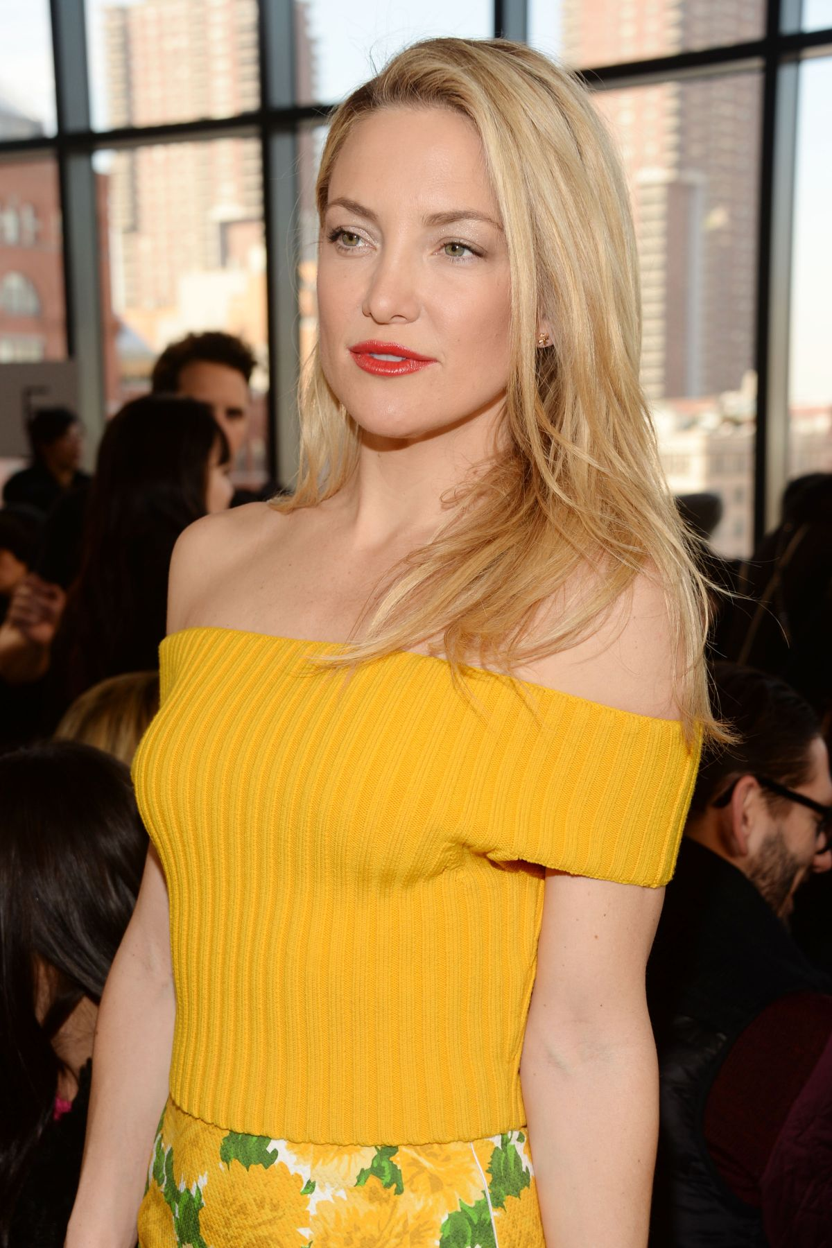 KATE HUDSON at Michael Kors Fashion Show in New York