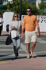 KATE UPTON and Justin Verlander Out and About in Miami Beach