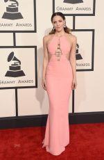 KATHARINE MCPHEE at 2015 Grammy Awards in Los Angeles