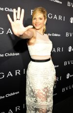 KATHERYN WINNICK at Bvlgari and Save the Children stop. think. give. Pre-oscar Gala in Beverly Hills