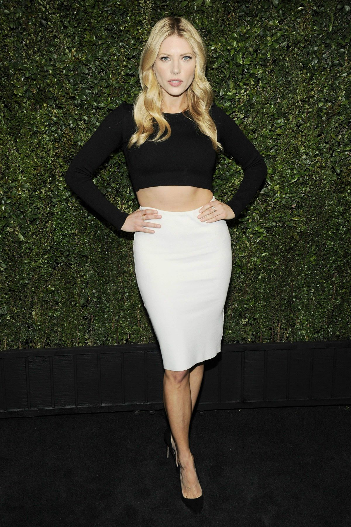 katheryn winnick at chanel and charles finch pre oscar