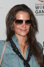 KATIE HOLMES at cw3pr Presents Gold Meets Golden in Los Angeles