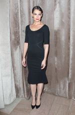 KATIE HOLMES at Zac Posen Fashion Show in New York