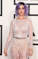 KATY PERRY at 2015 Grammy Awards in Los Angeles