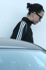 KATY PERRY Leaves an Office in Los Angeles