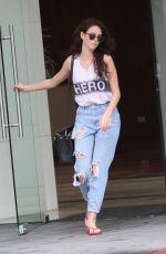 KAYA SCODELARIO Leaves Her Hotel in Australia