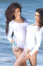 KAYLEE J LAVIGNE and SAAB MARTY - 138 Water Photoshoot in Malibu