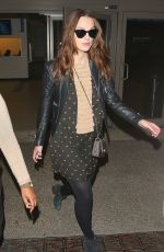 KEIRA KNIGHTLEY Arrives at Los Angeles International Airport 1102