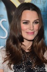 KEIRA KNIGHTLEY at 2015 Writers Guild Awards in Los Angeles