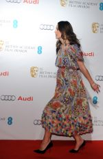 KEIRA KNIGHTLEY at British Academy Awards Nominees Party in London