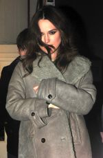 KEIRA KNIGHTLEY Leaves Strand Palace Hotel in London
