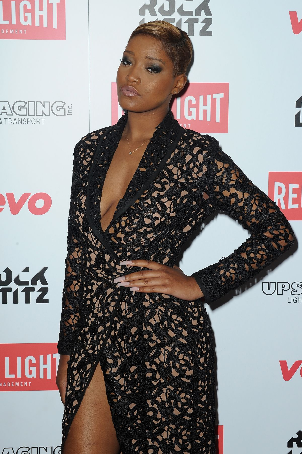 KEKE PALMER at Red Light Management Grammys After Party  in Hollywood