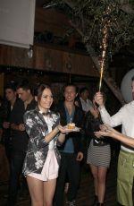 KELLI BERGLUND Celebrates Her 19th Birthday at Aventine in Los Angeles