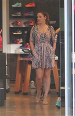KELLY BROOK and NATALIE LOREN Shopping at Nike Town