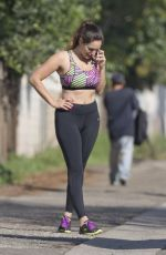 KELLY BROOK in Tank Top Out and About in Los Angeles