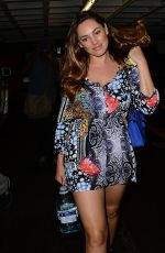 KELLY BROOK Leaves a Nail Salon in Beverly Hills 0502