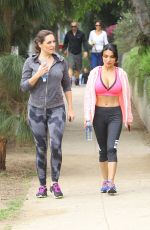 KELLY BROOK Out Hiking at Runyon Canyon in Los Angeles