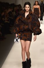 KENDALL JENNER at Fendi Fashion Show in Milan