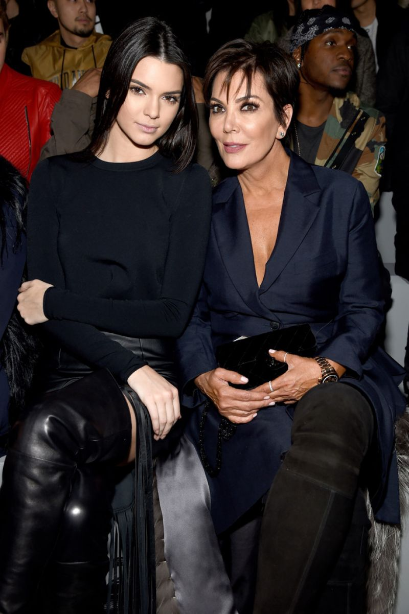 KENDALL JENNER at Kanye West X Adidas Fall 2015 Fashion Show in New York