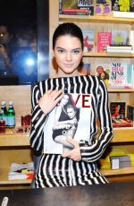 KENDALL JENNER at Love Magazine Signing at Bookmarc in New York