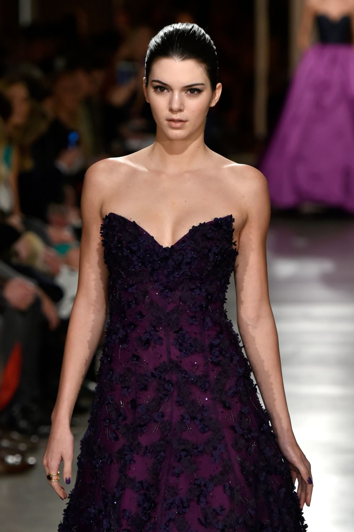 Kendall Jenner At Oscar De La Renta Fashion Show In New York Hawtcelebs