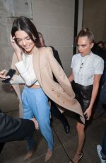 KENDALL JENNER at Topshop Unique Fashion Show in London