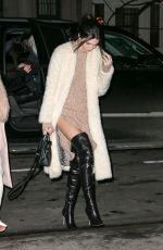KENDALL JENNER Night Out in New York 1002
