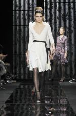 KENDALL JENNER on the Runway of Diane Von Furstenberg Fashion Show