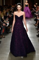 KENDALL JENNER on the Runway of Oscar De La Renta Fashion Show in New York