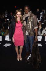 KERRIS DORSEY at Badgley Mischka Fashion Show in New York