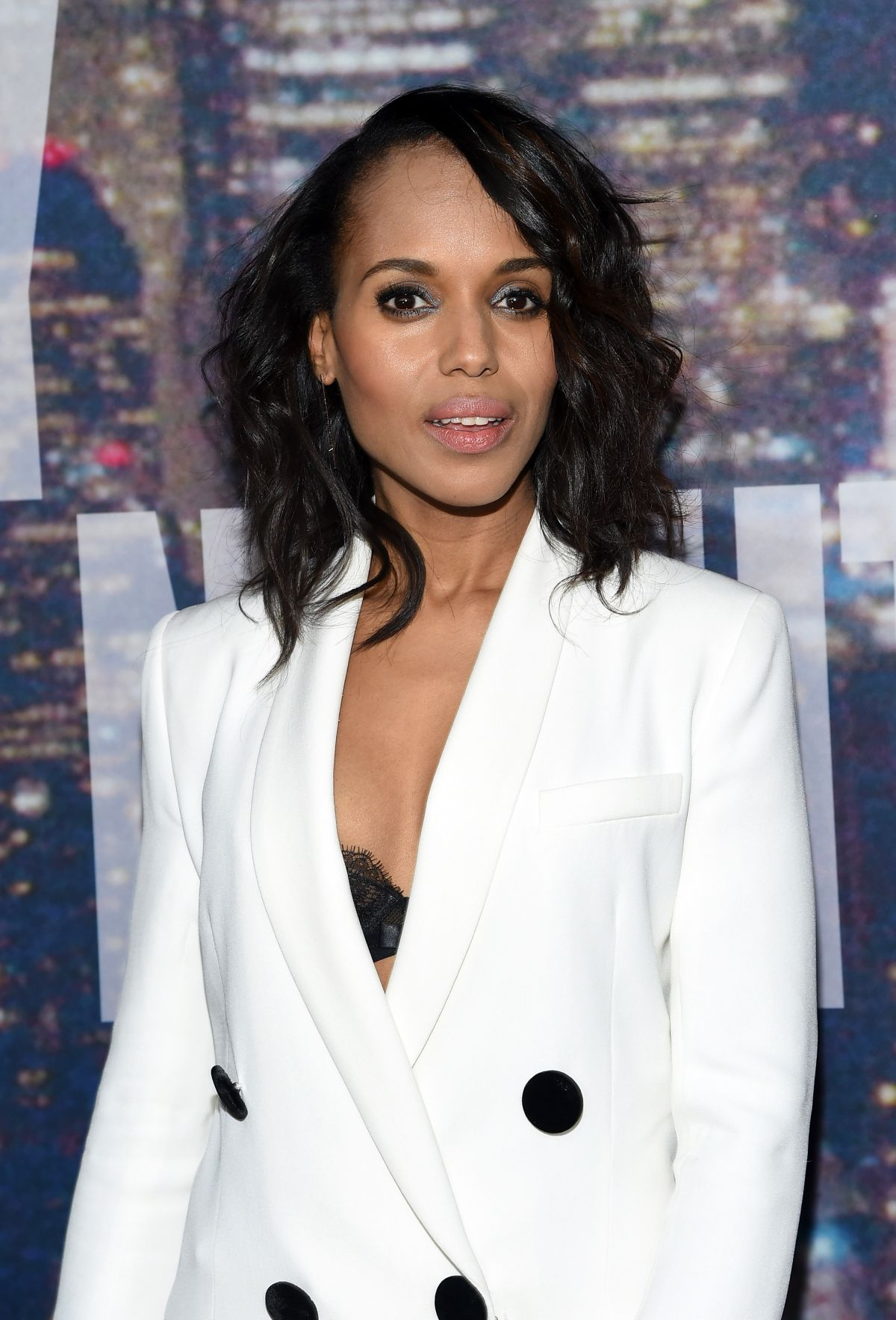 KERRY WASHINGTON at SNL 40th Anniversary Celebration in New York