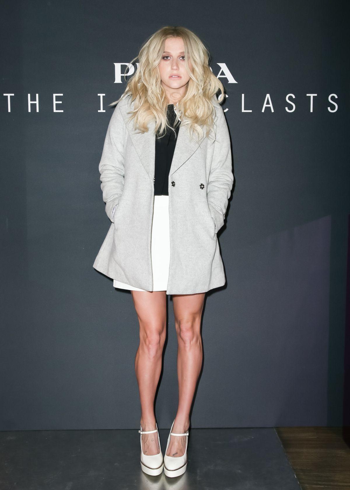 KESHA at Prada Presents The Iconoclasts in New York